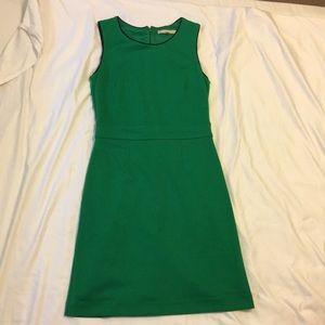 Banana Republic Factory emerald green dress